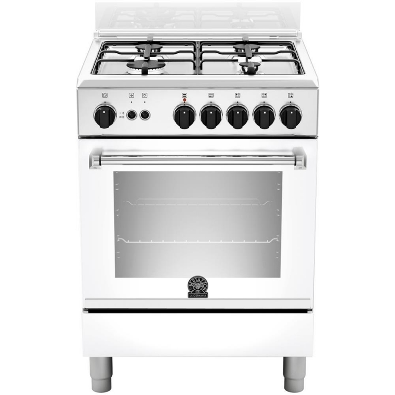 Cucina la germania amn604gevswe 60x60 bianca 4 f a gas - Cucine a gas la germania ...