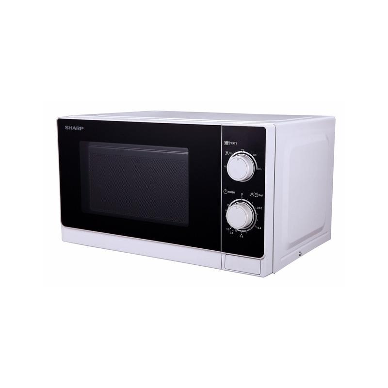 Forno a microonde sharp r 600ww 20 lt 800 watt con grill - Forno con microonde ...