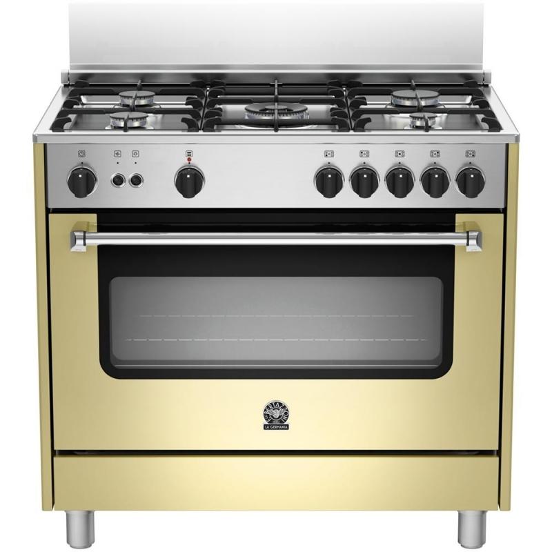 Cucina la germania ams95c71ccr 90x60 crema 5 fuochi forno - Cucine a gas la germania ...