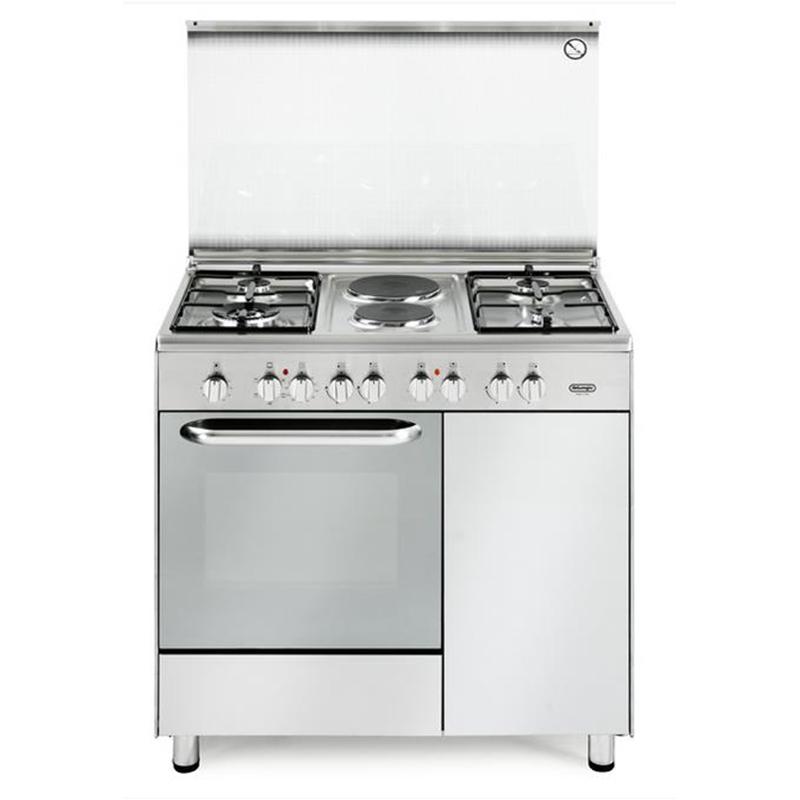 Cucina de longhi demx9642b 90x60 4 fuochi 2 piastre forno elettrico multifunzione inox - Cucine a gas samsung ...