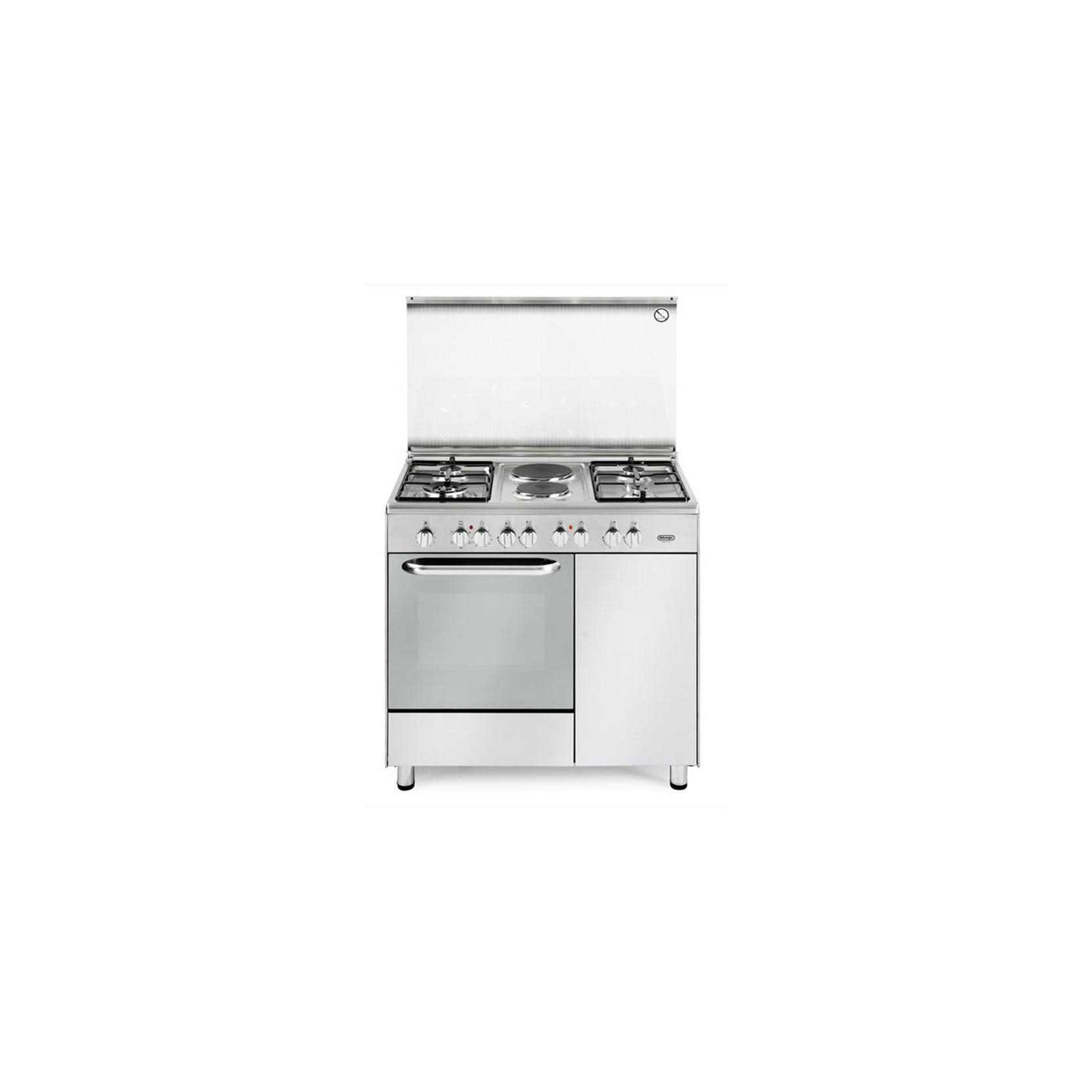 Cucina de longhi demx9642b 90x60 4 fuochi 2 piastre - Cucine con piastre elettriche ...