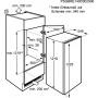 FRIGORIFERO MONOPORTA INCASSO ELECTROLUX ERN2201BOW 208 LT. CLASSE A+ - GARANZIA ITALIA