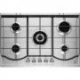 PIANO COTTURA ELECTROLUX REX PQ750UX 5 FUOCHI INOX TRIPLA CORONA 75 CM - GARANZIA ITALIA - PROMOZIONE