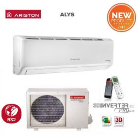 CLIMATIZZATORE ARISTON INVERTER ALYS R-32 25 MUD0 A++ 9000 BTU WI-FI READY