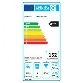 LAVATRICE ELECTROLUX RWS1061EDW 6KG CLASSE A+++ 38 CM 1000 GIRI - GARANZIA ITALIA - PROMOZIONE