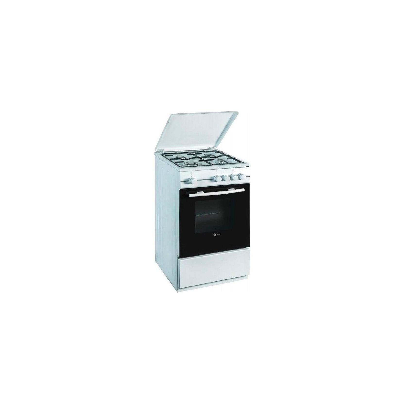 Cucina atlantic atmc66 4 fuochi a gas forno elettrico con grill 60x60 bianca garanzia italia - Cucine a gas samsung ...