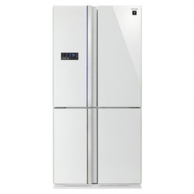 SHARP FRIGO SIDE BY SIDE SJ-FS810VWH 4 PORTE NO FROST CLASSE A+ ...