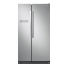 SAMSUNG RS54N3003SA FRIGO SIDE BY SIDE 566 LITRI COLORE SILVER ...