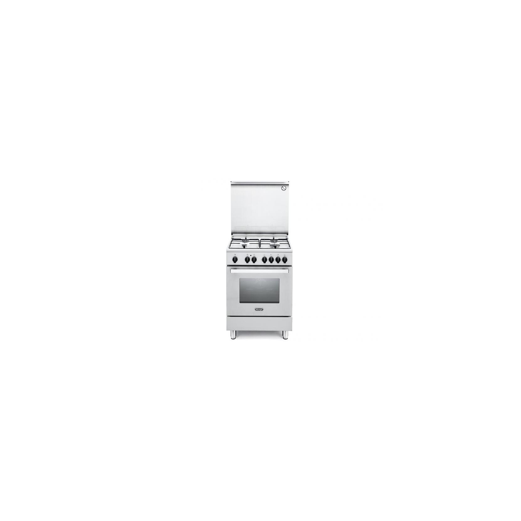 Cucina de longhi dmw64 60x60 4 fuochi forno elettrico multifunzione bianco garanzia italia - Cucina elettrica de longhi ...