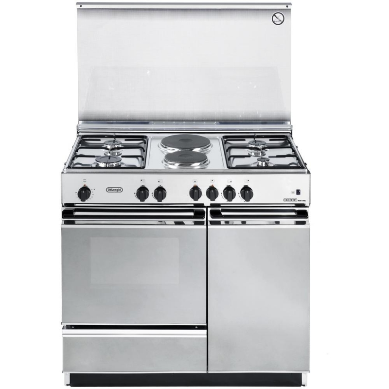 Cucina de longhi sex8542n inox 86 50 forno elettrico 4 fuochi 2 piastre elettriche garanzia - Cucine a gas samsung ...