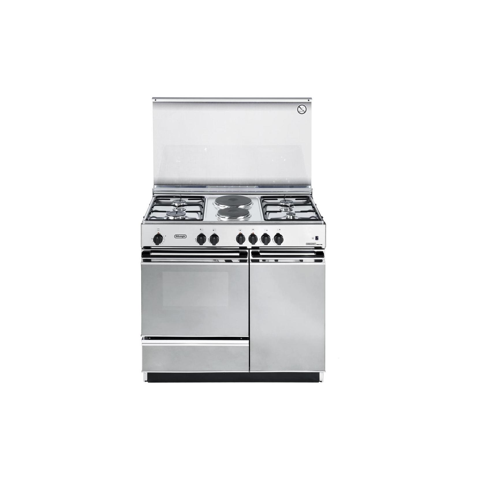 Cucina de longhi sex8542n inox 86 50 forno elettrico 4 fuochi 2 piastre elettriche garanzia - Cucina elettrica de longhi ...