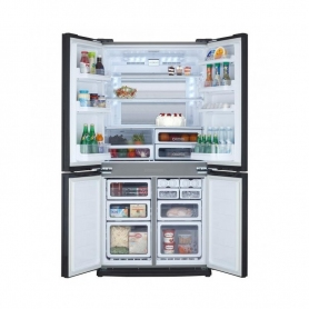 FRIGO SIDE BY SIDE SHARP SJ-EX770FSL 4 PORTE 678LT SILVER - NOFROST CLASSE A++ IMMEDIATAMENTE DISPONIBILE