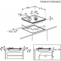 PIANO COTTURA REX PXL64V SOSTITUITO DA PXL641V INCASSO 4 F INOX CM 60 COMANDI LATERALI - PROMOZIONE