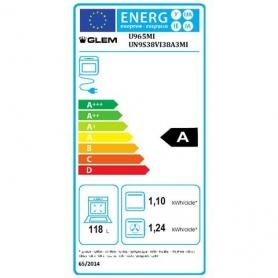 GLEM GAS U965MI CUCINA 90X60 LIBERA INSTALLAZIONE FORNO ELETTRICO MULTIFUNZIONE CLASSE A - PROMOZIONE