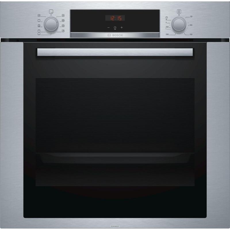 Bosch hba314br0j forno elettrico da incasso multifunzione 71 lt colore inox promozione - Forno da incasso bosch ...