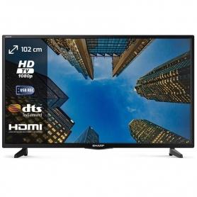 SHARP LC-40FI3122 TV LED 40'' TV FULL HD DVB/T2/S2 COLORE NERO - GARANZIA ITALIA - PROMOZIONE