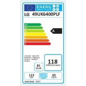LG 49UK6400 TV LED 49'' ULTRA HD 4K SMART TV - DVB-T2 - Wi-Fi - COLORE NERO - GARANZIA ITALIA - PROMOZIONE