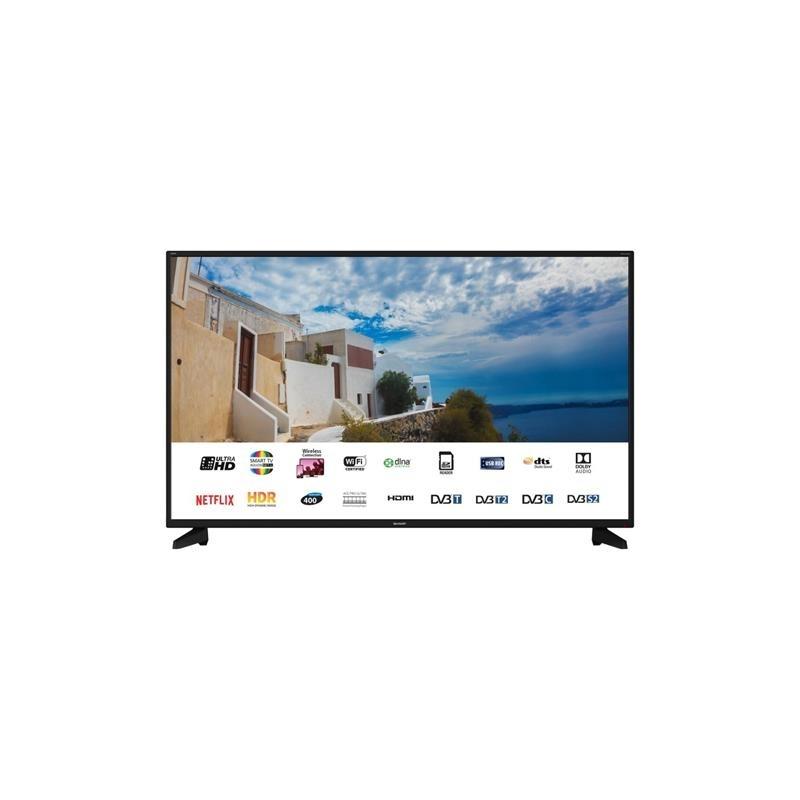 SHARP LC-50UI7222 TV LED 50'' SMART TV, 4K, ULTRA HD - GARANZIA ITALIA - PROMOZIONE
