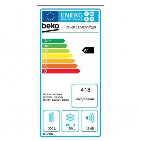 BEKO GNE480E20ZXP FRIGO SIDE BY SIDE TOTAL NO-FROST 480 L CLASSE A+ COLORE INOX - GARANZIA ITALIA - PROMOZIONE