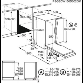 AEG FSB41600Z LAVASTOVIGLIE AIRDRY 13 COPERTI 60CM CLASSE A+ - PROMO
