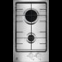 ELECTROLUX PQX320V PIANO COTTURA DA 30 CM 2 FUOCHI A GAS COLORE INOX - GARANZIA ITALIA - PROMOZIONE