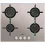 AEG HG654820UM PIANO COTTURA A GAS 60 CM 4 FUOCHI VERTICAL FLAME COLORE INOX - PROMOZIONE